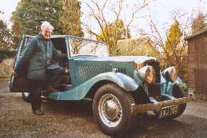 Roger Stratford's 1935 Railton Straight Eight Saloon with Bodywork by 'Carbodies'