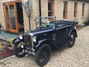 Adam Brown and Family's 1930 Austin 7 Chummy