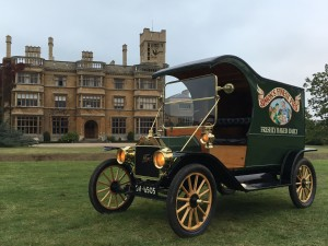 Adam Brown and Family's 1912 Ford Model T Pie Van