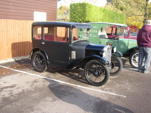 Doug & Toddy Collyer's Austin 7 RK Saloon