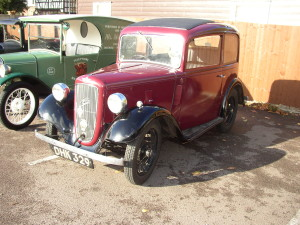 Doug & Toddy Collyer's Austin 7 Ruby
