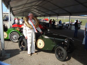 Robert Leigh at Zandvoort (ex F1 circuit!) at the Vintage Revival 2017. Regularity Winner
